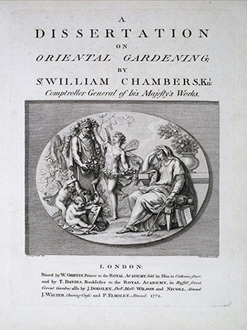 Chambers dissertation on oriental gardening
